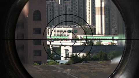 sniper 1 HD Stock Video Footage