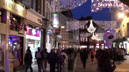 Christmas Lights 1 Stock Video Footage