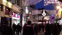 Christmas Lights 1 Stock Video Footage
