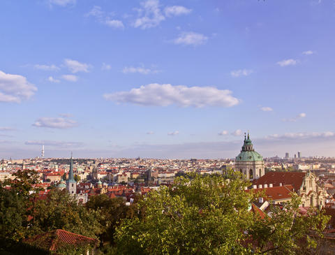 Prague City, Time Lapse Footage