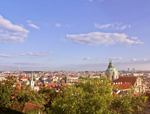 Prague City, Time Lapse Stock Video Footage