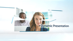 Dynamic Presentation - Apple Motion and Final Cut Pro X Template Apple Motion Template
