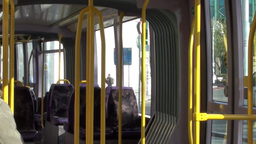 Journey on the Luas 2 of 3 Stock Video Footage
