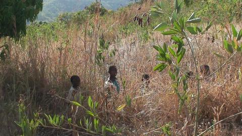African Children (2) Stock Video Footage