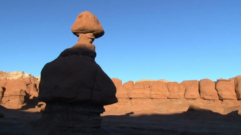 Goblin Valley, time lapse Stock Video Footage