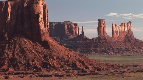 Monument Valley, time lapse Stock Video Footage