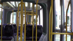 Journey On The Luas 3 Of 3 stock footage
