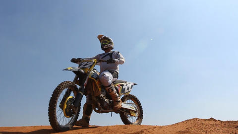 Sport Motocross exciting racing exciting tough Live Action