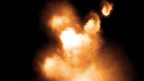 Abstract Fire Stock Video Footage