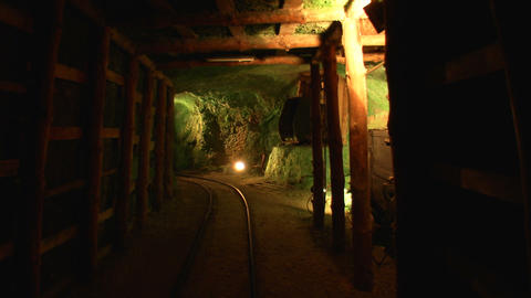 mining tunnel 04 Footage