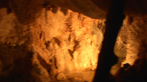 mining tunnel 08 Stock Video Footage