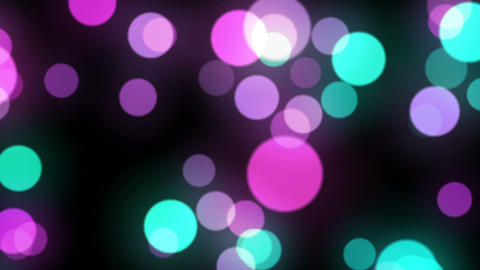 Moving Particle Light Perple Animation