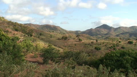 African mountains Stock Video Footage