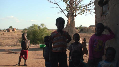 African Children (4) Stock Video Footage