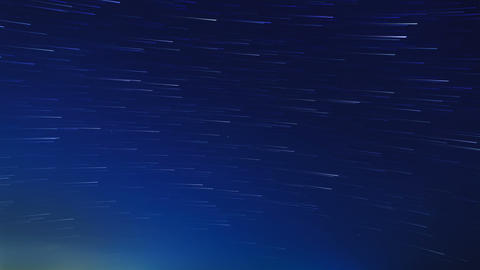 Stars leave traces. Time Lapse Stock Video Footage
