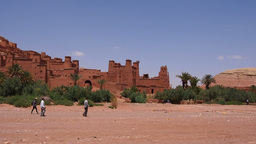 Ait Benhaddou, Morocco Footage