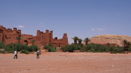 Ait Benhaddou, Morocco Stock Video Footage