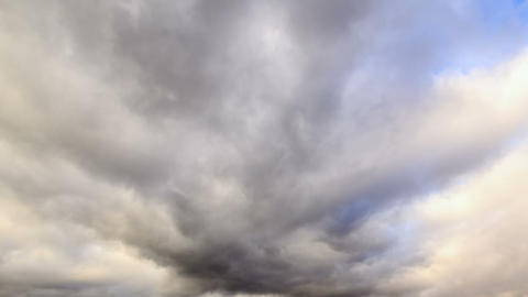 Clouds in the sky. Time Lapse Stock Video Footage