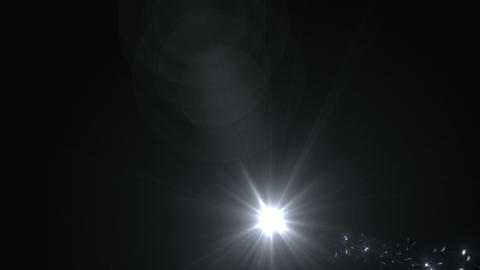 Light streaks and particles 2 A 2a 2 HD Stock Video Footage