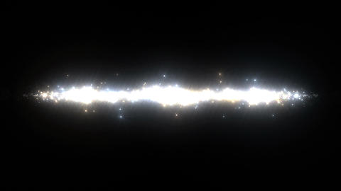 Light streaks and particles 2 A 3a 2 HD Stock Video Footage