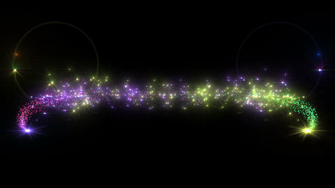 Light streaks and particles 2 C 1a 2 HD Stock Video Footage