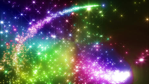 Light streaks and particles 2 Dr 2a 3 HD Stock Video Footage