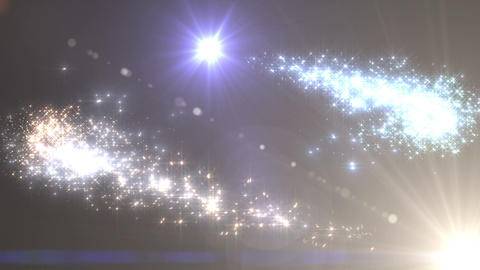 Light streaks and particles 3 Cr 1b 2 HD Stock Video Footage
