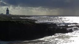 Stormy Sea 1 stock footage