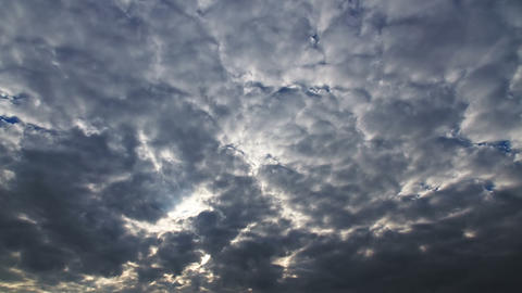 Clouds in the sky. Time Lapse Footage