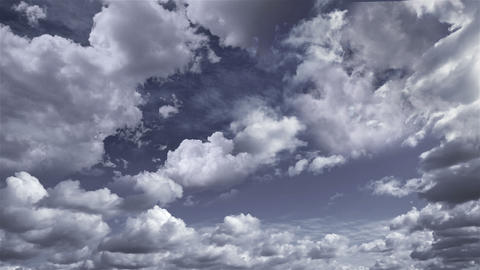 sky clouds 2 Stock Video Footage