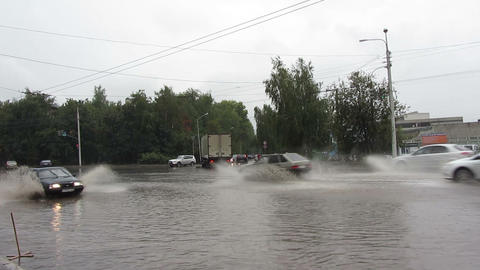 flooding Stock Video Footage