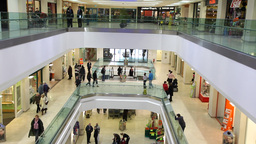 Shopping Centre 1 Stock Video Footage