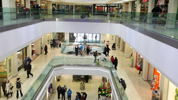 Shopping Centre 1 stock footage