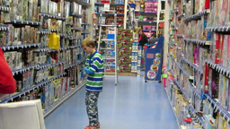 Toy Store 2 Stock Video Footage