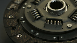 Automotive Clutch Plate Stock Video Footage