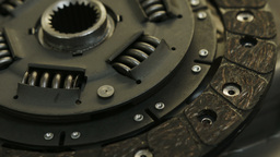 Automotive Clutch Plate Stock Video Footage