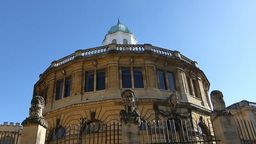 Sheldonian Theatre, located in Oxford, England (Ox Stock Video Footage