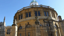 Sheldonian Theatre, located in Oxford, England (Ox Footage