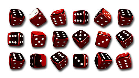 Casino Dices Background Animation