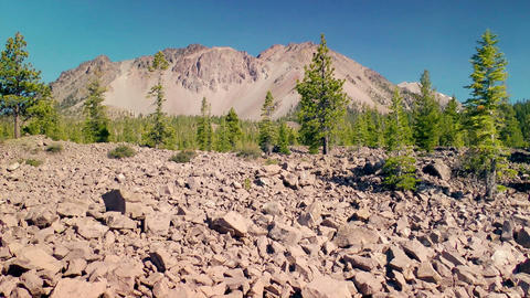 Lassen Volcanic National Park stock footage
