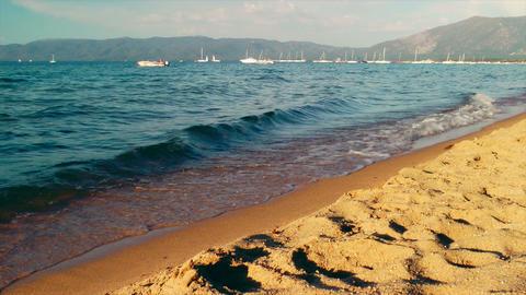 Lake Tahoe Shore Footage