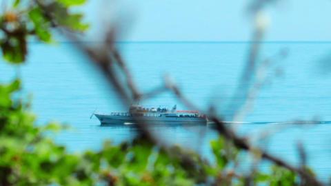 ship at sea Footage