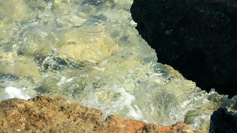 Sea coast Footage