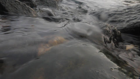 wave over water and underwater Footage