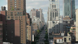 city urban. skyline skyscrapers.new york. towers Footage