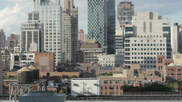City Skyline Skyscrapers.new York. Real Estate stock footage
