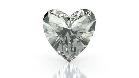 Heart Cut Diamond stock footage