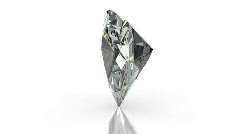 Heart cut diamond Stock Video Footage