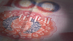 Yuan Close-up Stock Video Footage