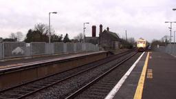 Intercity Train 1 stock footage